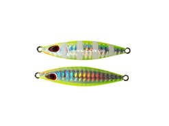 Storm - Koika - 15 Grams - UV CHARTREUSE ZEBRA - Slow Pitch Metal Jig | Eastackle