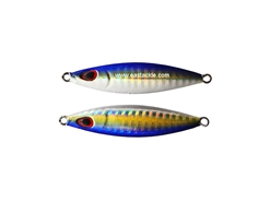 Storm - Koika - 30 Grams - UVSB - UV BRIGHT SILVER BLUE - Slow Pitch Metal Jig | Eastackle