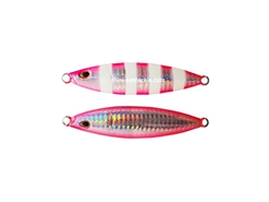 Storm - Koika - 60 Grams - SPZ - SILVER PINK ZEBRA - Slow Pitch Metal Jig | Eastackle