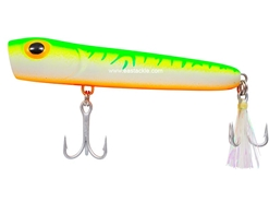 Storm - Saltwater Rattlin Chug Bug CBS11 - GREEN FIRE UV - Floating Popper | Eastackle