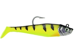 Storm - Wildeye Giant Jigging Shad - WGJSD06 - CHARTREUSE DEMON - Soft Plastic Swim Bait | Eastackle
