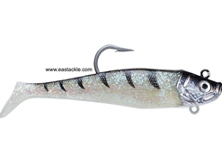 Storm - Wildeye Giant Jigging Shad - WGJSD06 - GHOST FROST - Soft Plastic Swim Bait | Eastackle