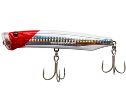Tackle House - Contact Feed Popper 120 - RED HEAD SLIT HG - Floating Popper | Eastackle