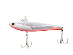 Tackle House - RDC Rolling Bait 77 Plate Plus - PP PEARL WHITE RED BELLY - Sinking Pencil Bait | Eastackle