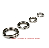 TackleLoft Stainless Steel Split Rings