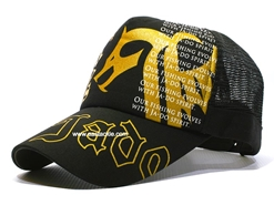 Valley Hill - JYS Dragon Ja-Do Cap - BLACK-GOLD