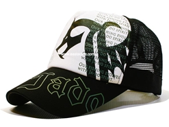 Valley Hill - JYS Dragon Ja-Do Cap - WHITE-SILVER