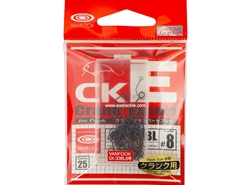 Vanfook - CK-33BL - #8 (25 Piece Pack) - Barbless Single Luring Hook | Eastackle