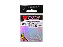 VMC - 7237TI #6 - Light Inline Single Hook | Eastackle