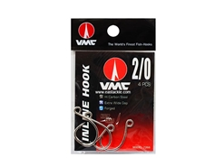VMC - 7266TI - #2/0 - Inline Single Hooks | Eastackle