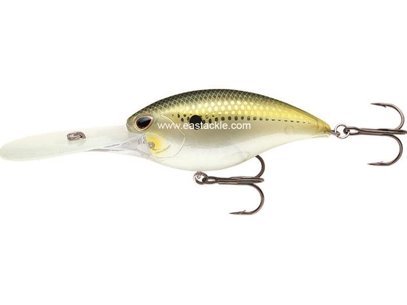 Storm Arashi Rattling Deep 25 Fishing Lure Crankbait Green Gold Shad New !!