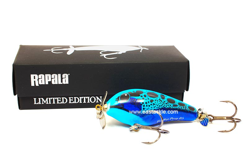 Rapala Collectors - Fat Rap Prop 5 - BLUE POISON DART FROG - Floating Prop Bait | Eastackle