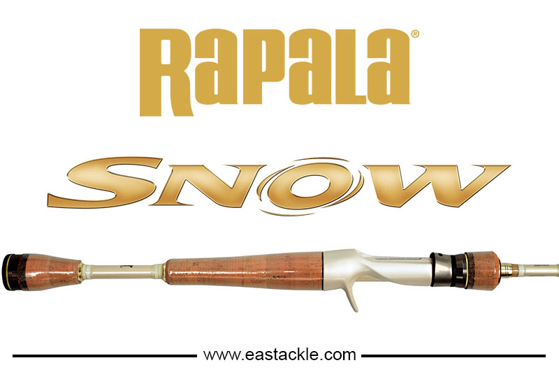 Rapala - Snow - Bait Casting Fishing Rods | Eastackle