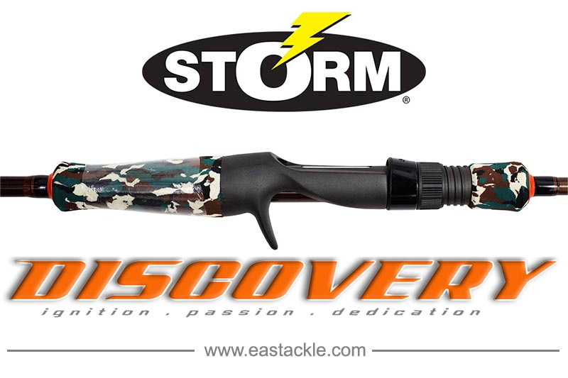 Storm - Discovery - Bait Casting - Fishing Rods | Eastackle