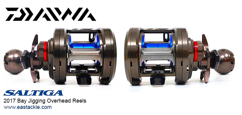 Daiwa - 2017 Saltiga Bay Jigging - Overhead Reels - Category Banner | Eastackle