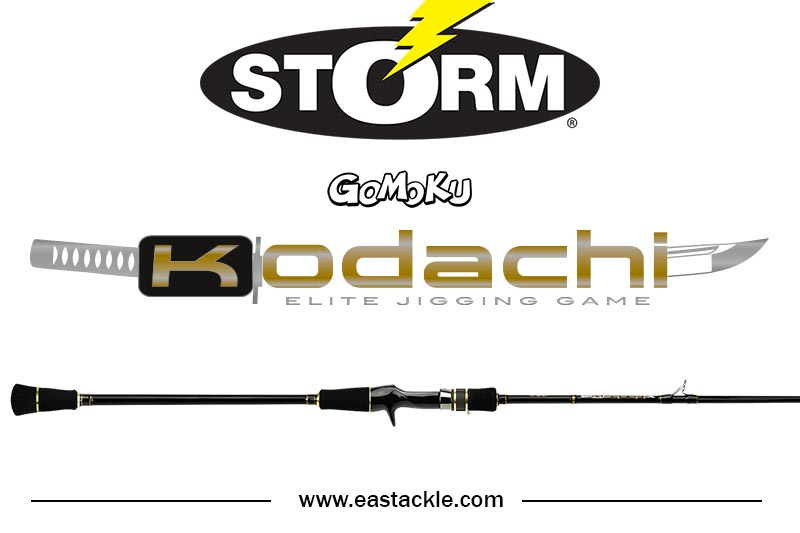 Storm - 2017 Kodachi - Elite Jigging Game - PE4 - Overhead Rod | Eastackle