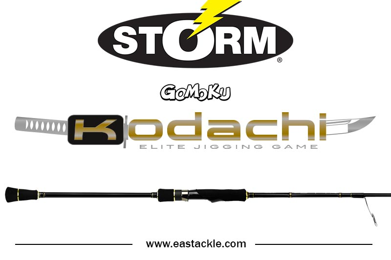 Storm - 2017 Gomoku Kodachi - Elite Jigging Game - Spinning Rod | Eastackle