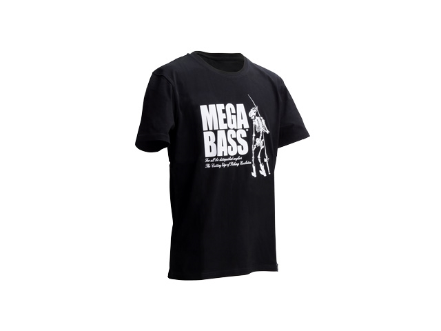 Megabass - SKULL T-Shirt - BLACK - XXL | Eastackle