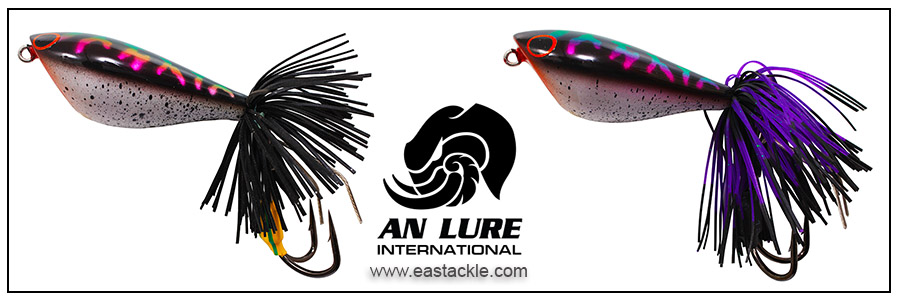 An Lure - Jump King 55 - Floating Jump Frog - Snakehead Colours | Eastackle