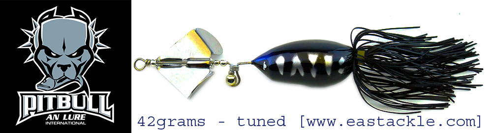 An Lure - Maddox Pitbull - Sinking Propeller Frog Bait (v2 - Tuned)