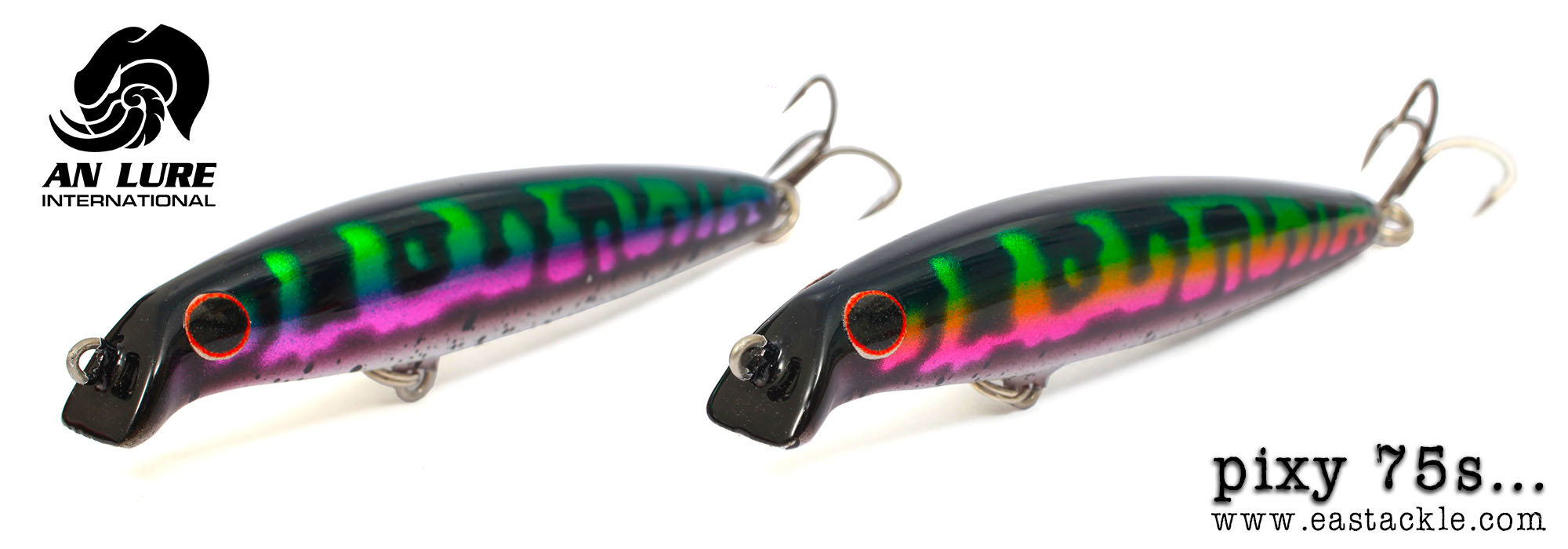 An Lure International - Pixy 75S - Snakehead - Minnow Lures