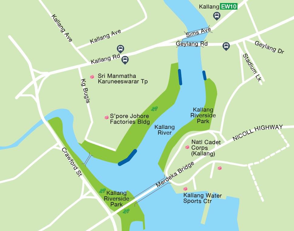 Marina Reservoir Legal Fishing Ground Eastackle