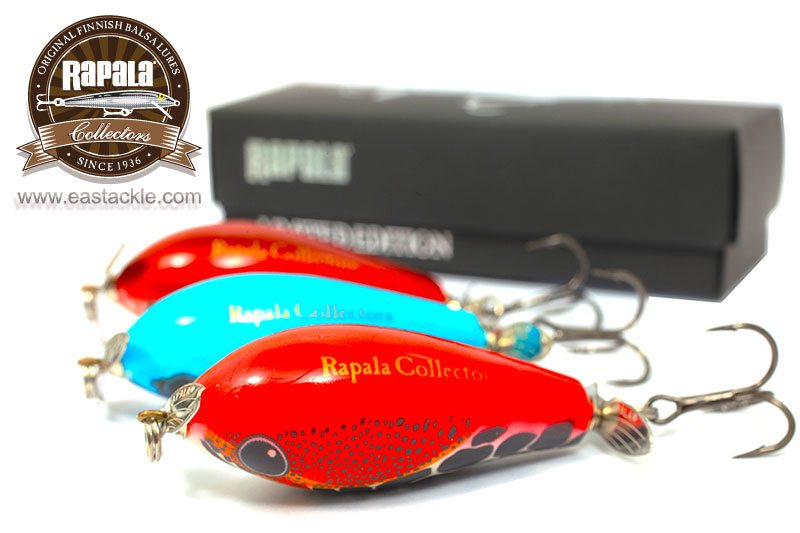 Rapala Collectors Hand Made Fat Rap Prop Fishing Lures